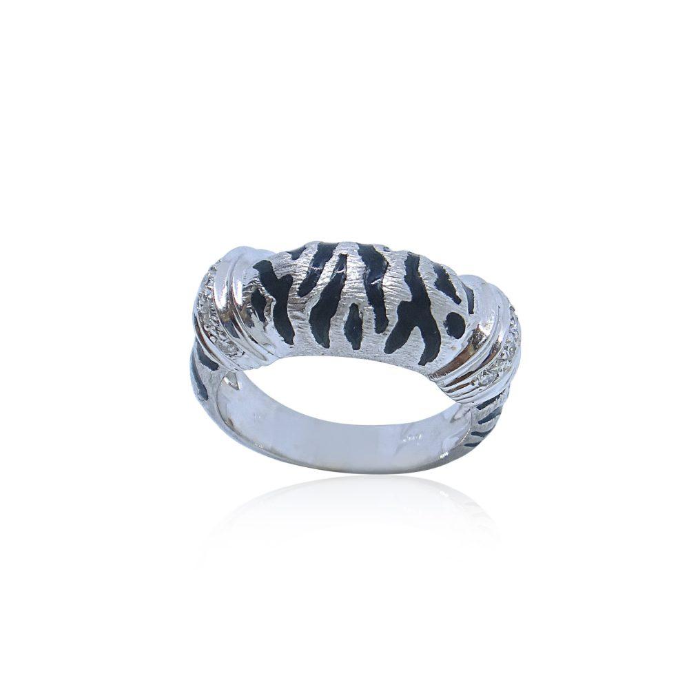 Unique Jewelry Design Cheetah Gold Ring in Miami Florida