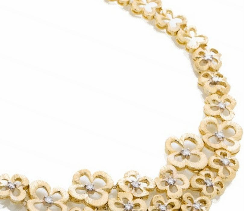 Flores Jewelry Collection. Praschnik Fine Jewelers Miami Florida