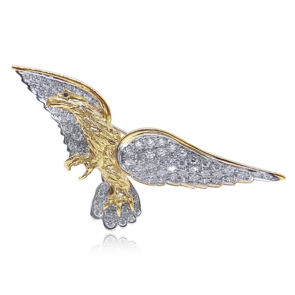 Unique Jewelry Gold Pin Design in Miami Florida