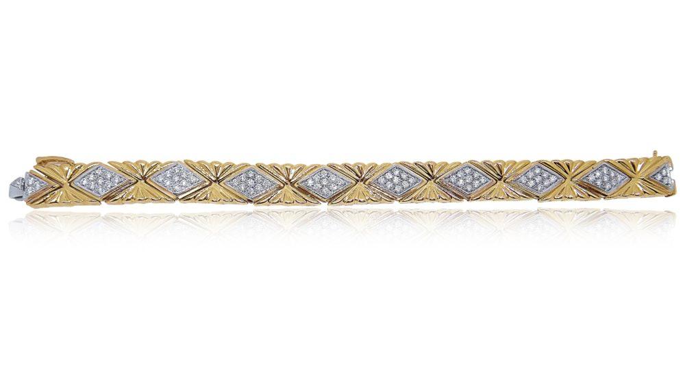 Unique Jewelry Design Gold Bracelet in Miami Florida