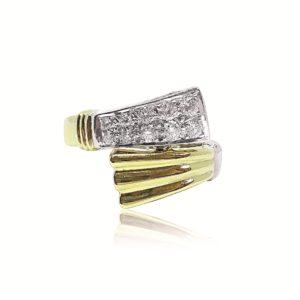 Unique Jewelry Design Gold Ring in Miami Florida