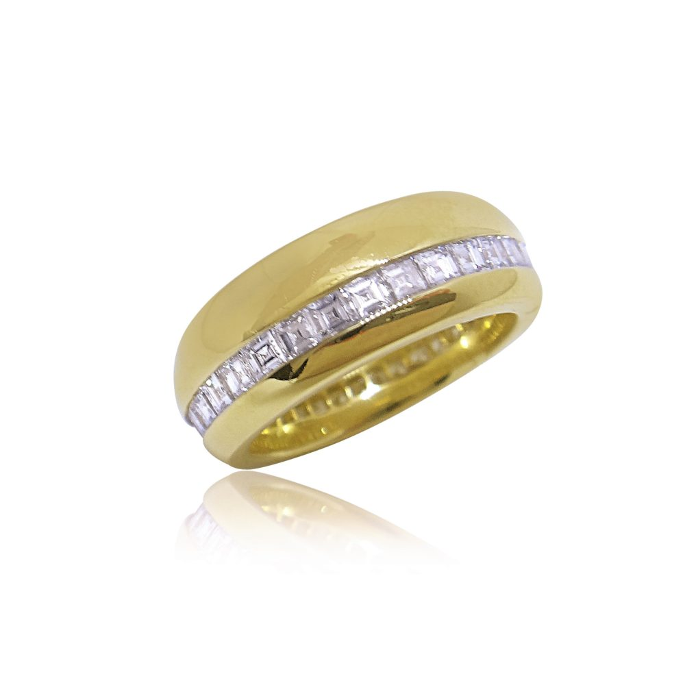 Unique Jewelry Design Gold Ring in Miami Florida